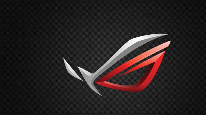 Asus ROG Logo On Black Background